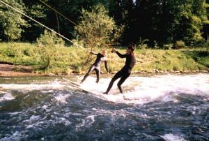 Riversurfing auf der Lippe