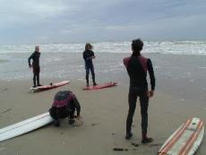 Epic-Crew in der Normandie