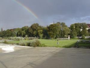sogar mit Regenbogen
