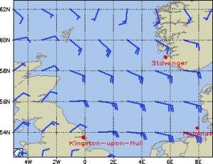 Windkarte von Wetteronline.de