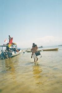 angenehmer Nebeneffekt wenn man einem kaputten Fuß hat und nicht ins Wasser darf