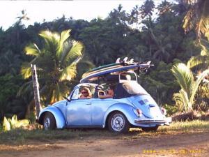 Den guten alten VW Käfer findet man in Brasilien noch sehr oft