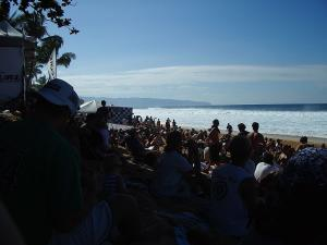Crowd at the Pipe Masters