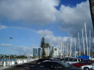 Rainbow at Ala Moana