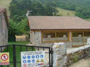 Häuser im Naturreservat