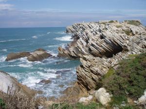 Die Klippen bei Baleal