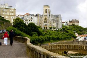 Der Morgen in Biarritz