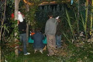 Videoanalyse un BBQ im Garvey's Dschungel Camp