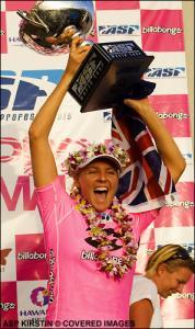 Die neue Weltmeisterin - Stephanie Gilmore (Aus)