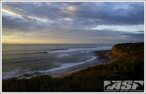 Ein schöner Morgen in Bells Beach