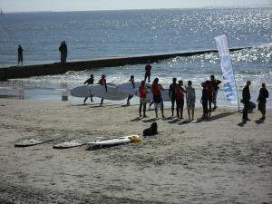 Le Mans Start zum SUP