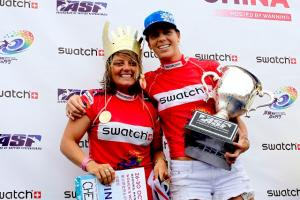 China Winners, Chelsea Williams und Lindsay Steinriede