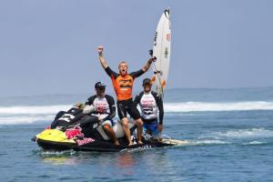 And the winner is .... Mick Fanning