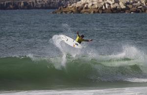 Caption: Julian Wilson (AUS), 23, claimed his maiden ASP WCT win today at the Rip Curl Pro Portugal.