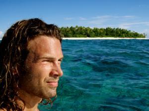 Irgendwann bis du soweit gereist, dass du wider näher zu Hause bist. Wie hier auf einer kleinen Insel Namens Nanuku Levu im Südpazifik