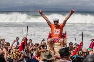 Oakley Pro Bali Champion: Joel Parkinson. Photo: Curley