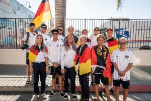 Junior Surf Team Germany. Foto ISA Sean Evans.
